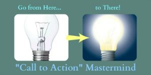 Call to Action Mastermind: unlit lightbulb to lit bulb